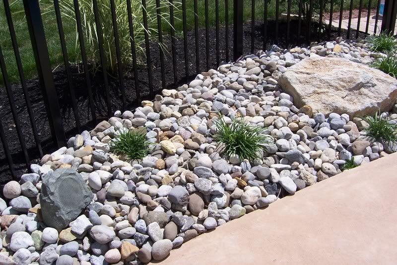 Lanscape With Rocks Re River Stones Pebbles River Rock Garden
