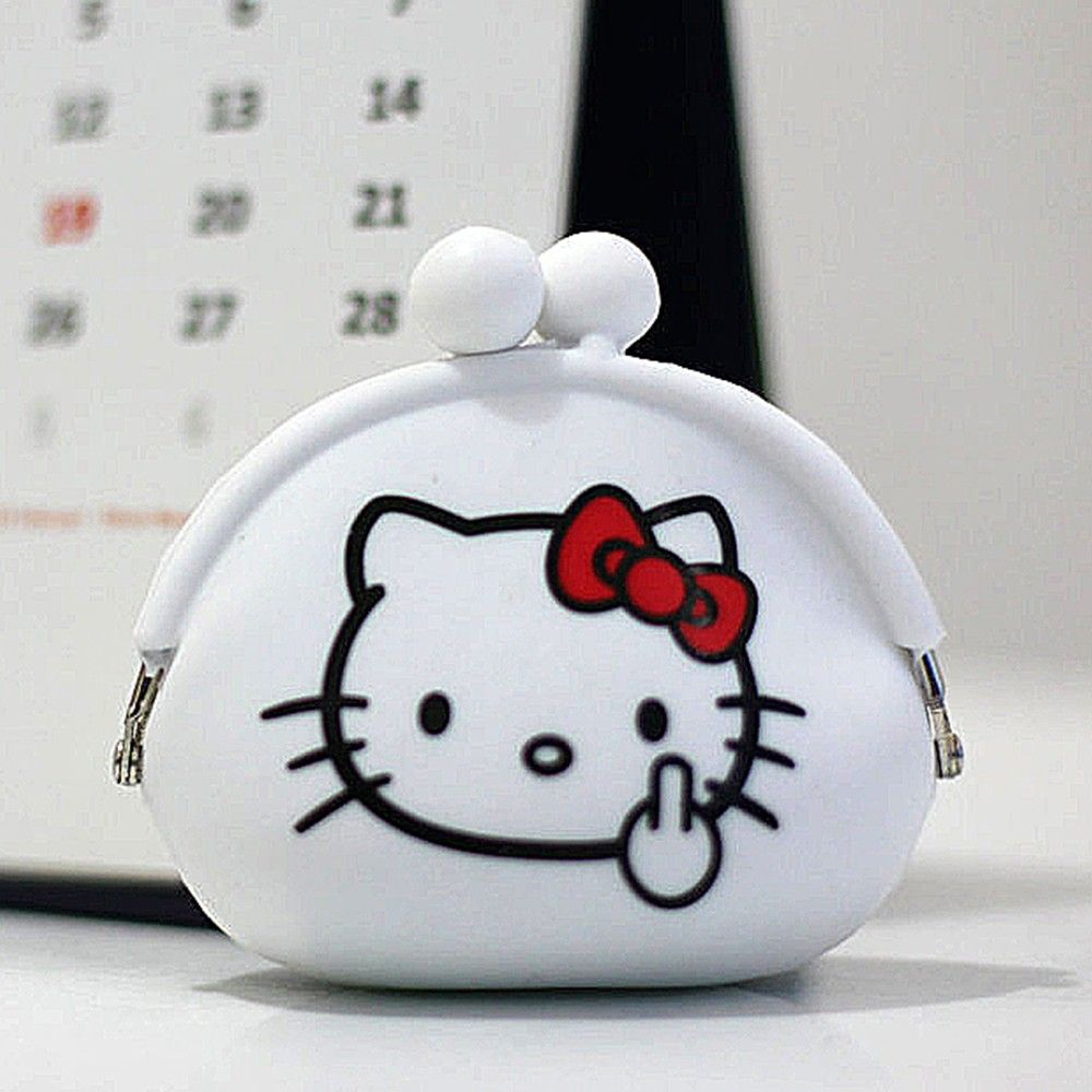 Coin Pouch Dompet Koin Pouches And Coins Silicon Hello Kitty New Rp 60000