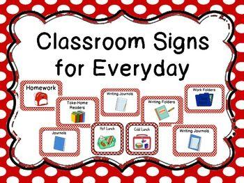 Classroom Signs for Everyday | Книга, Студент и Домашнее задание