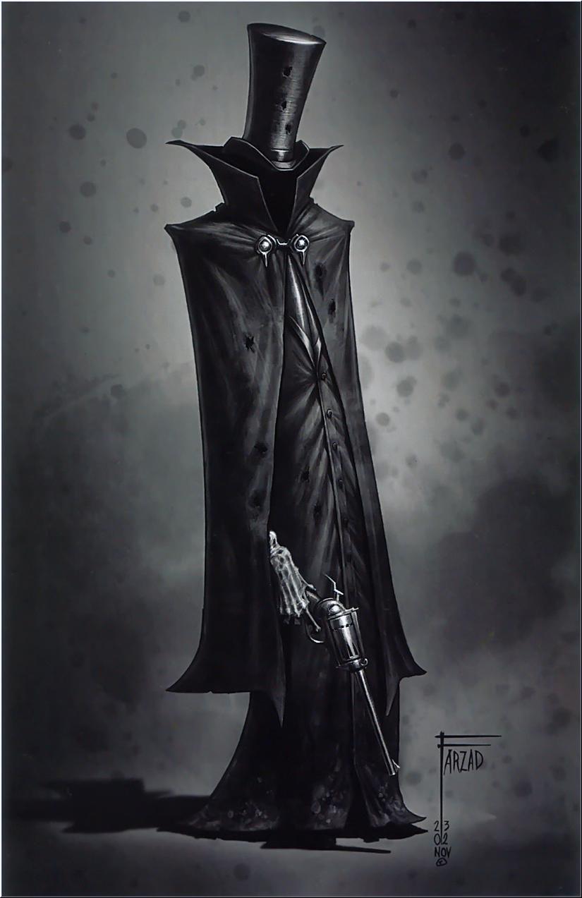 Farzad Varahramyan  Nightmare. Fantasy art  #Illustration
