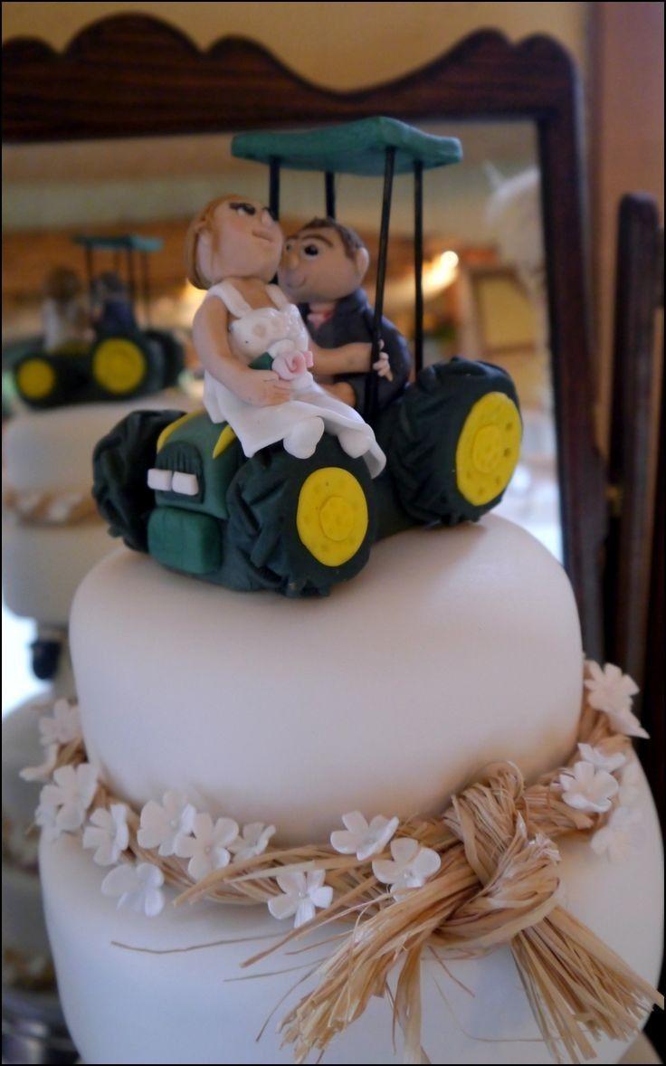 John Deere Cake toppers Wedding Cakes | Wedding Ideas | Pinterest ...