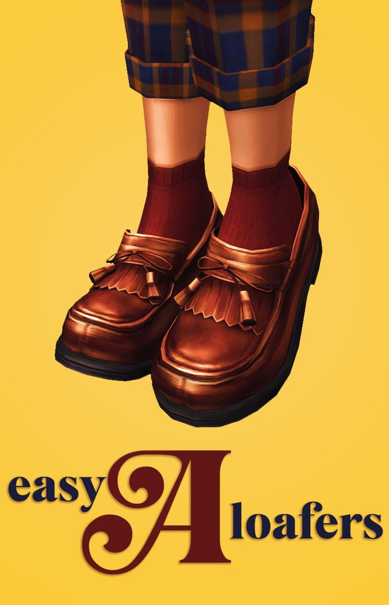 easy A loafers