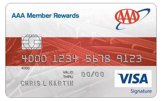 Aaa Member Rewards Visa Credit Card Review Bank And Card Amex