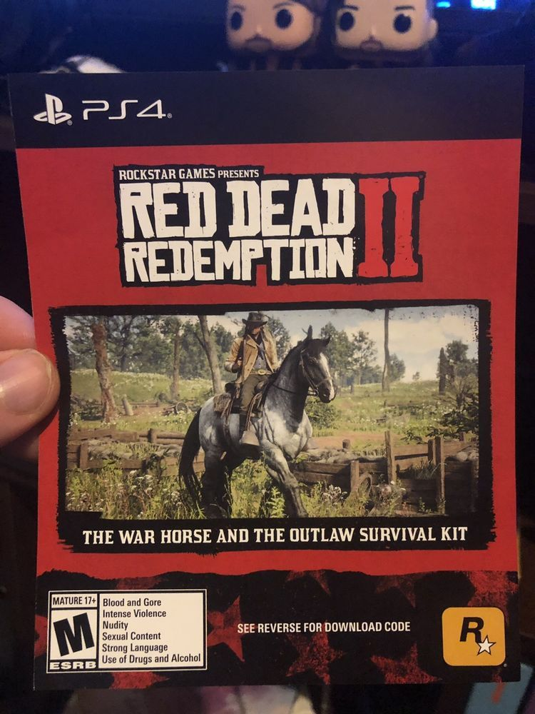 red dead redemption 2 ps4 pre order bonus