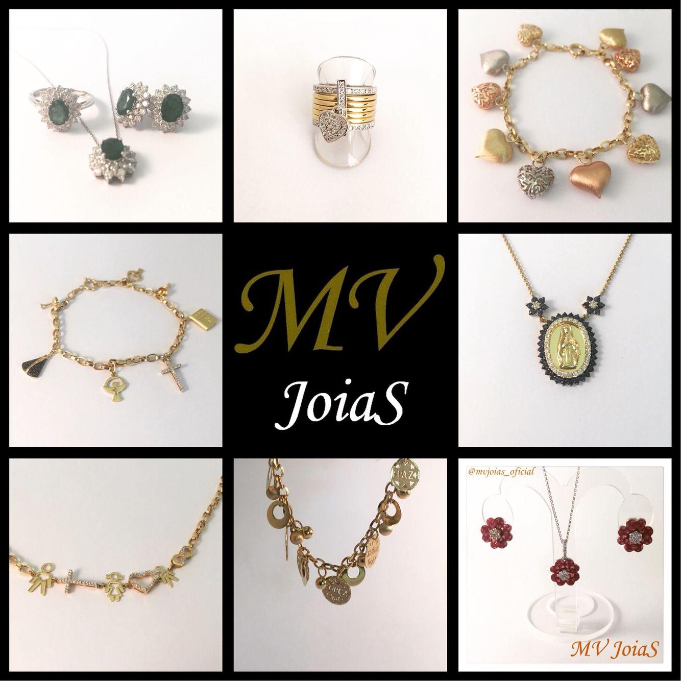 Só ouro!  www.mvjoias.com.br #promoção #30off #DiaDasMaes #mae #ouro #rubi #esmeralda #safira #diamante #brinco #anel #pingente #pulseira #gargantilha #corrente