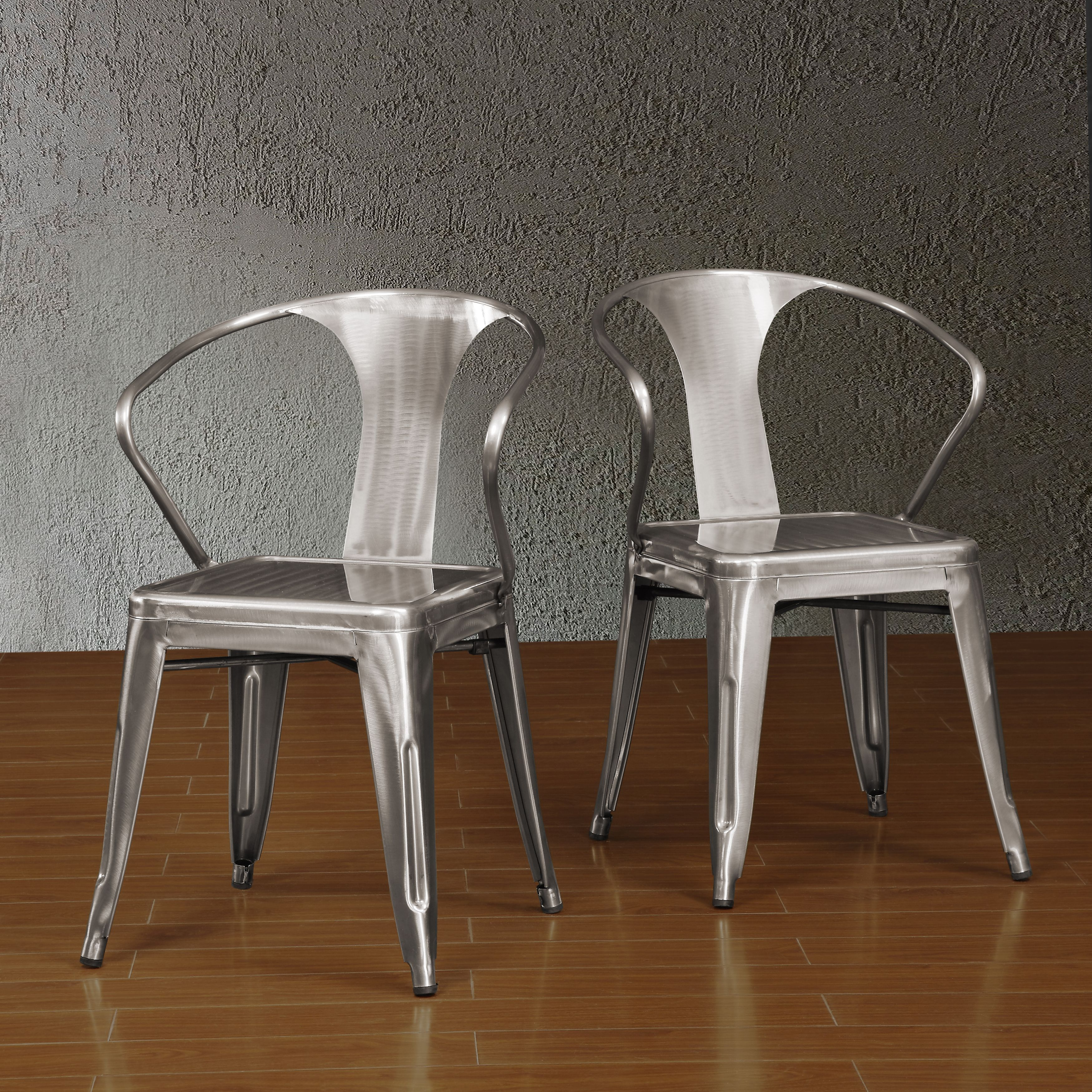 Perfectly Futuristic, Yet Comfortable, These Tabouret Stacking Chairs  Feature Non Mar Foot Glides