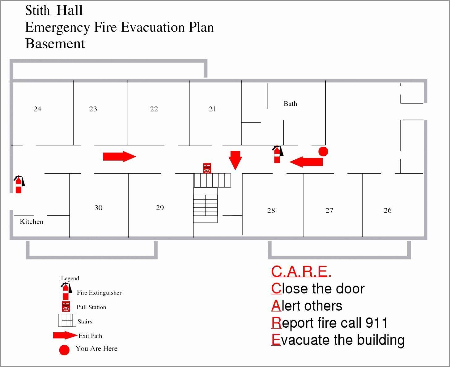 Home Evacuation Plan Template Unique 12 Home Fire