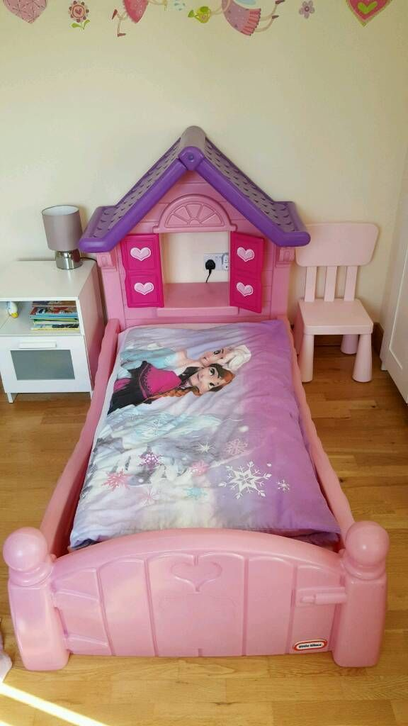 LITTLE TIKES COSY COTTAGE PRINCESS BED (With images ...