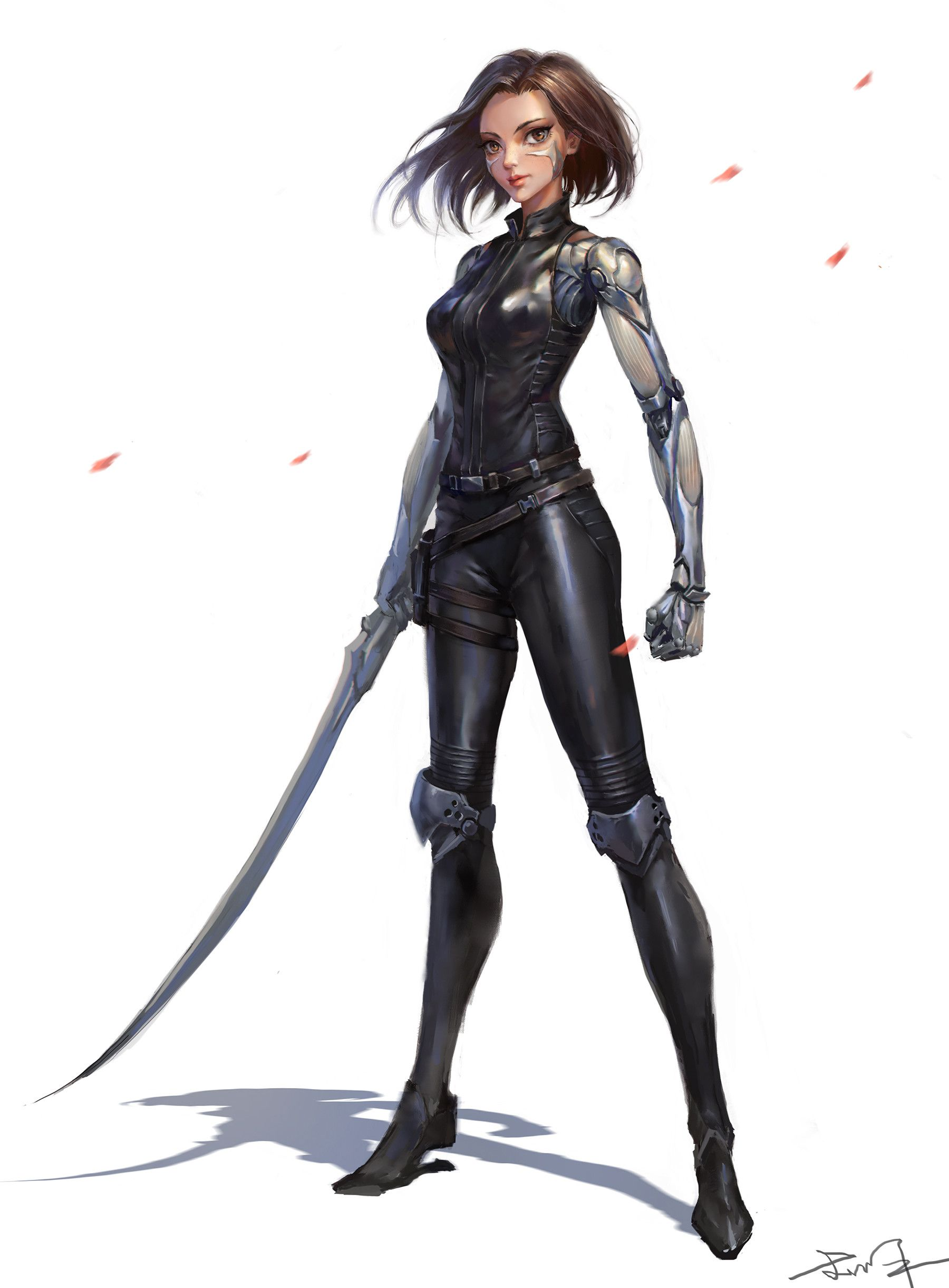 Pin by Smith Smithy on character art Alita battle angel
