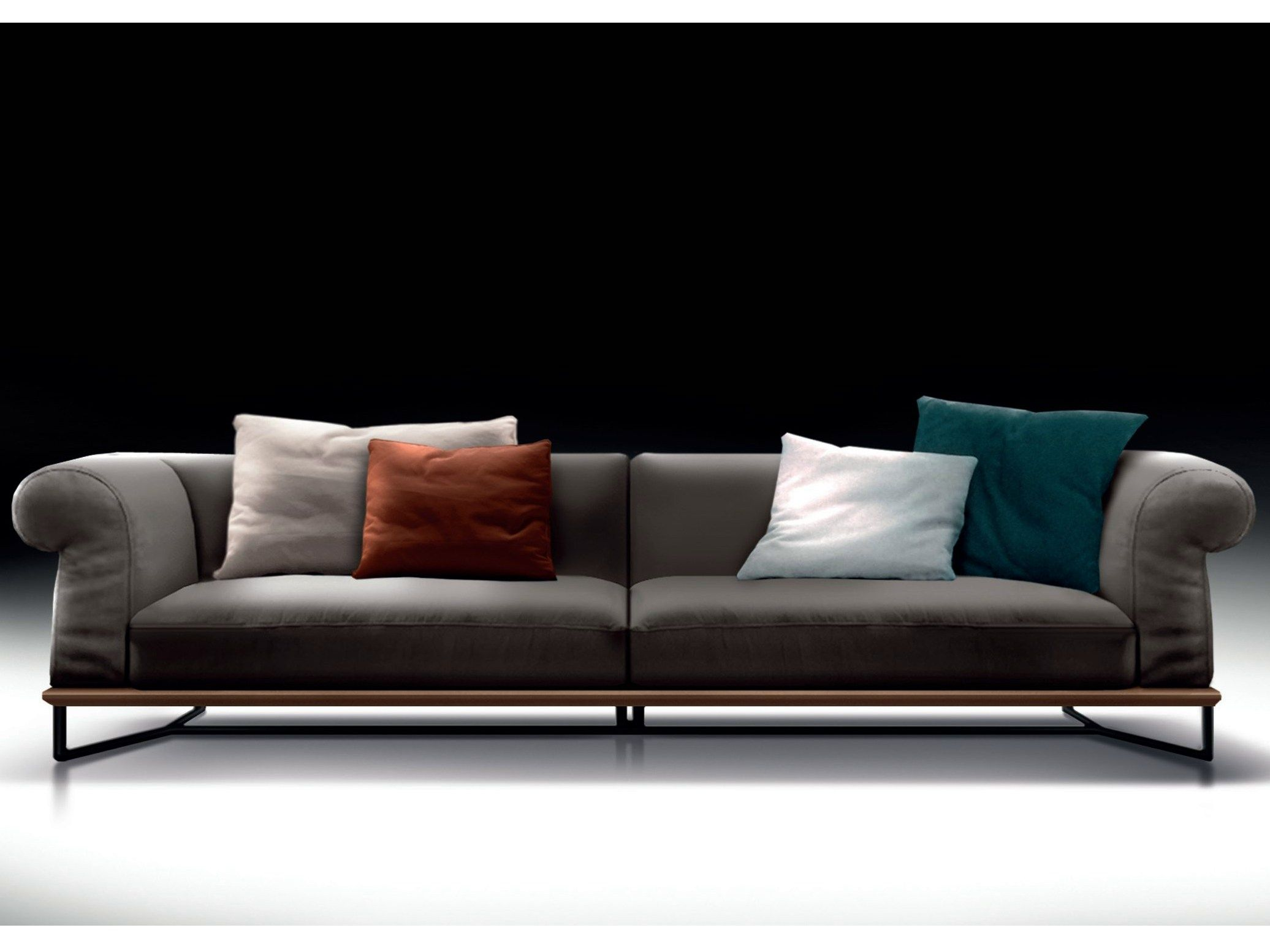 Divano In Pelle Vivaldi By Esedra By Prospettive Design Studio Memo Leather Sofa Sofa Furniture Upholstered Furniture