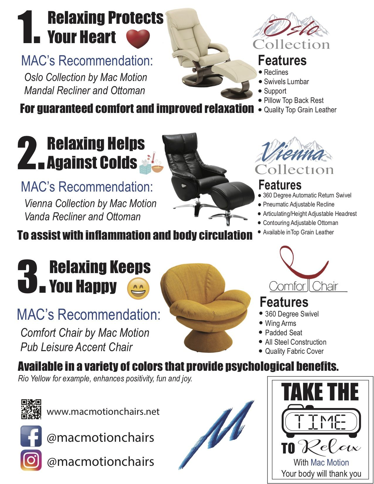 Mac Motion Chairs There Are So Many Benefits From Just Simply Taking The Time To Sit