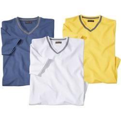 Photo of 3-pack V-neck T-shirts Ischia Atlas For Men
