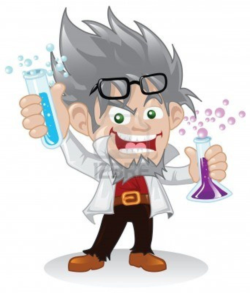 Mad scientist cartoon images mad scientist muscle bust - Dessin de prof ...