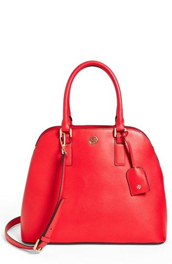 a82bec3ab2c5 Tory Burch  Robinson  Open Dome Satchel