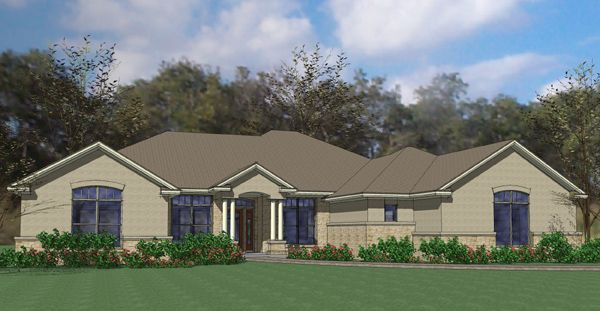 The Blanco House Plan - 5817
