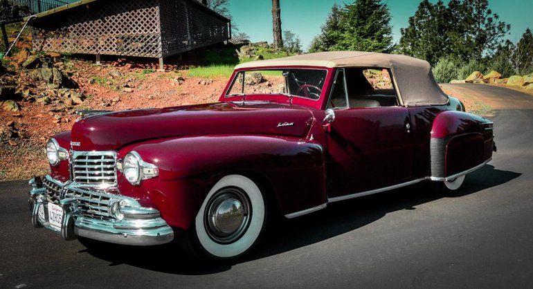 1948 Lincoln Continental Convertible Mark 1.