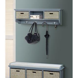 Gallerie Decor Newport 3 Basket Storage Shelf