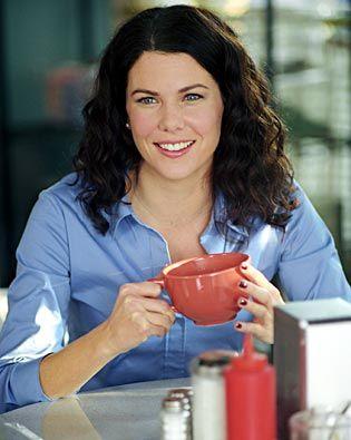 Lauren Graham & coffee
