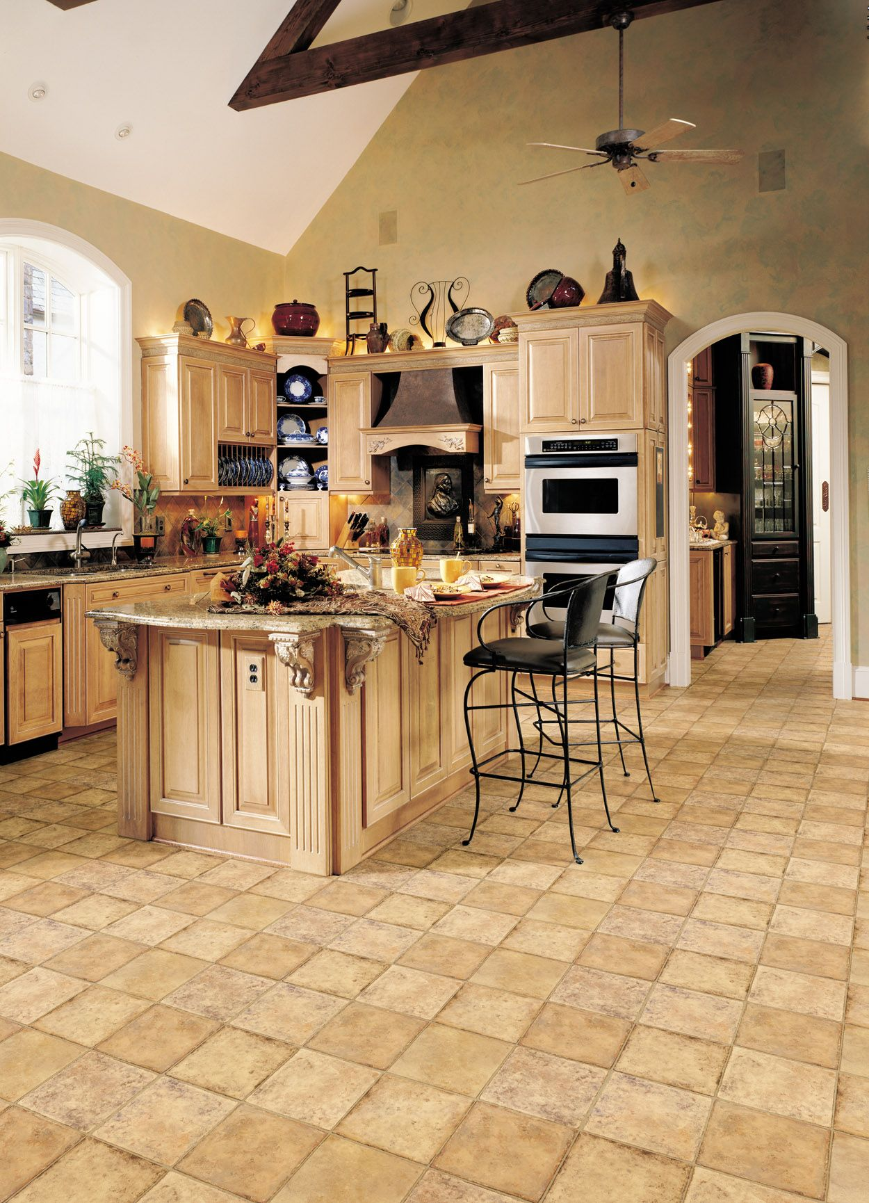 congoleum gallery kitchen vinyl vinyl flooring kitchen kitchen flooring on kitchen remodel vinyl flooring id=13876