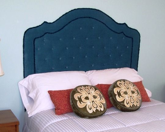 How To Make Don Betty Dr S Mad Men Upholstered Headboard