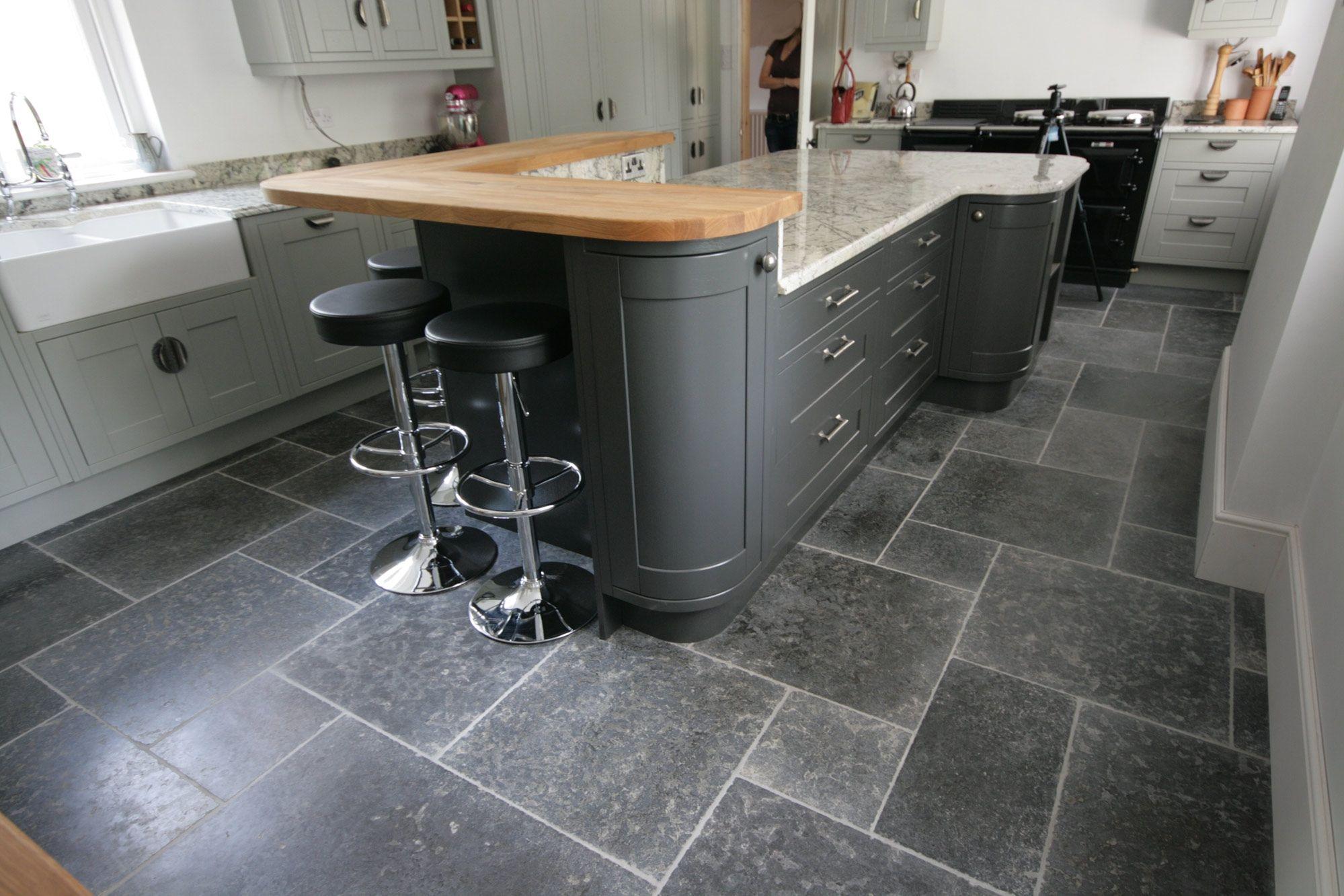 Flagstone kitchen floor photos webtop pinterest