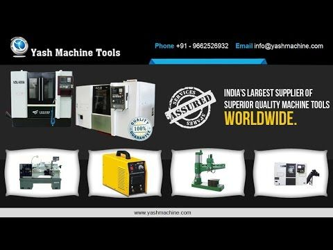 Video is all about Radial Drill Machines for Metalworking Project – www.yashmachine.com. Visit at - http://www.yashmachine.com/all-geared-radial-drilling-machines/ It is impossible to execute crucial metalworking projects without the assistance of proper tools like radial drill machines.