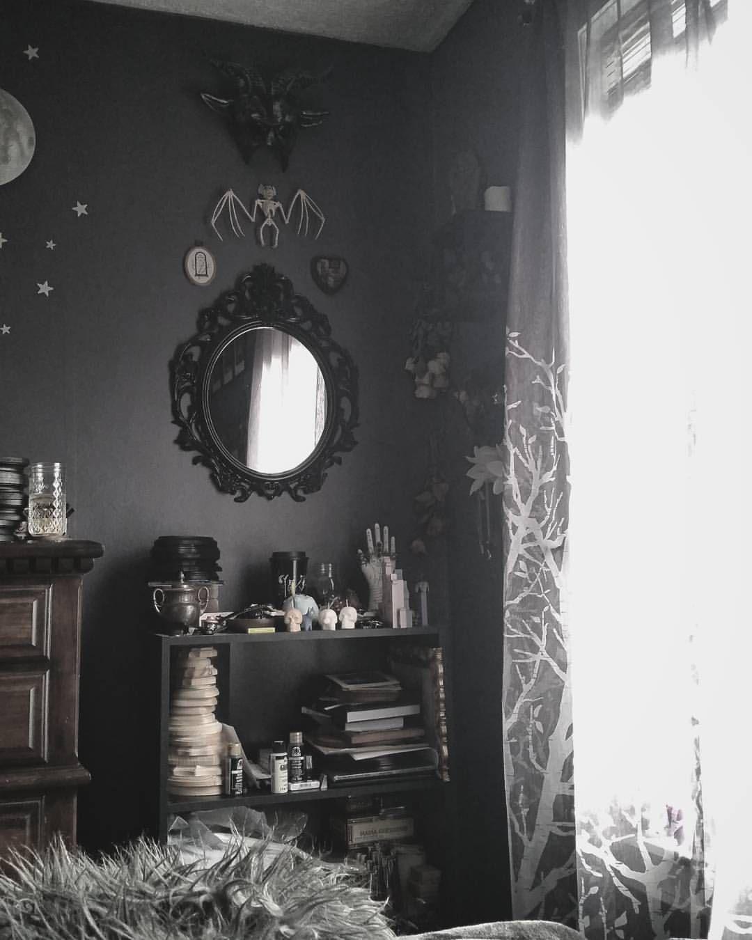 Spooky Home Decor Gothic Black Decor Gothic Home Decor Gothic