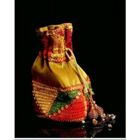 Bulk Phulkari and Tissue Potli 100 pieces- Online Shopping