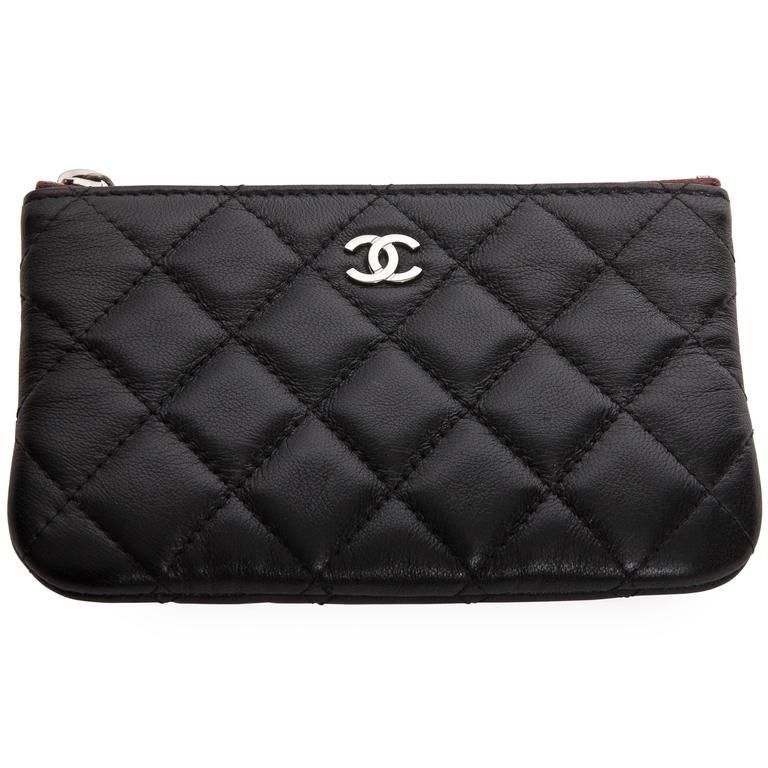 d93b498342b Chanel Top Zip Makeup Bag | Makeup in 2019 | Chanel makeup bag ...