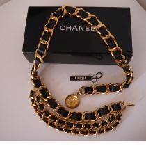 Chanel Belt (Gold)