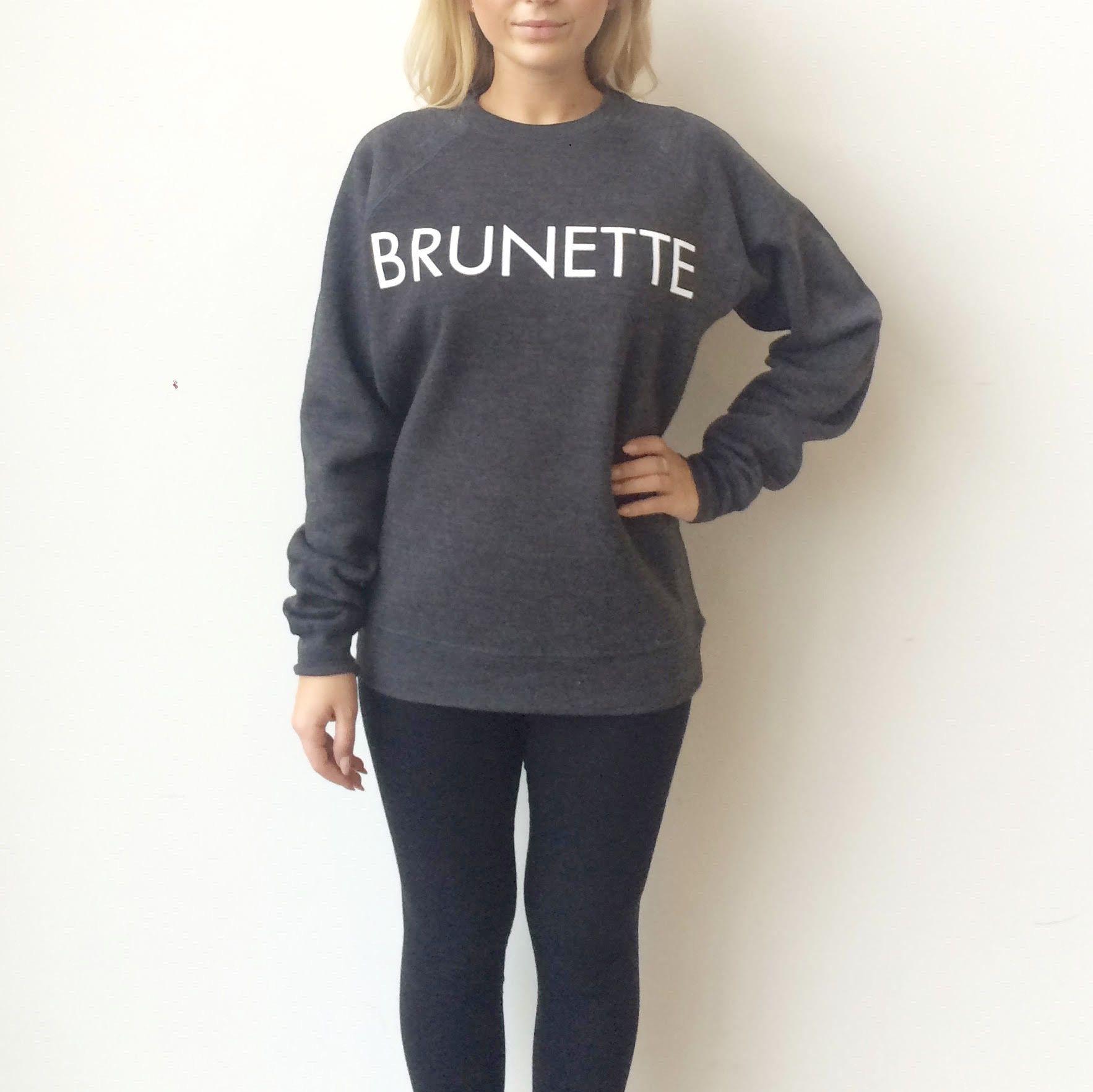 BRUNETTE the Label Brunette Sweatshirt Dress | Nordstrom