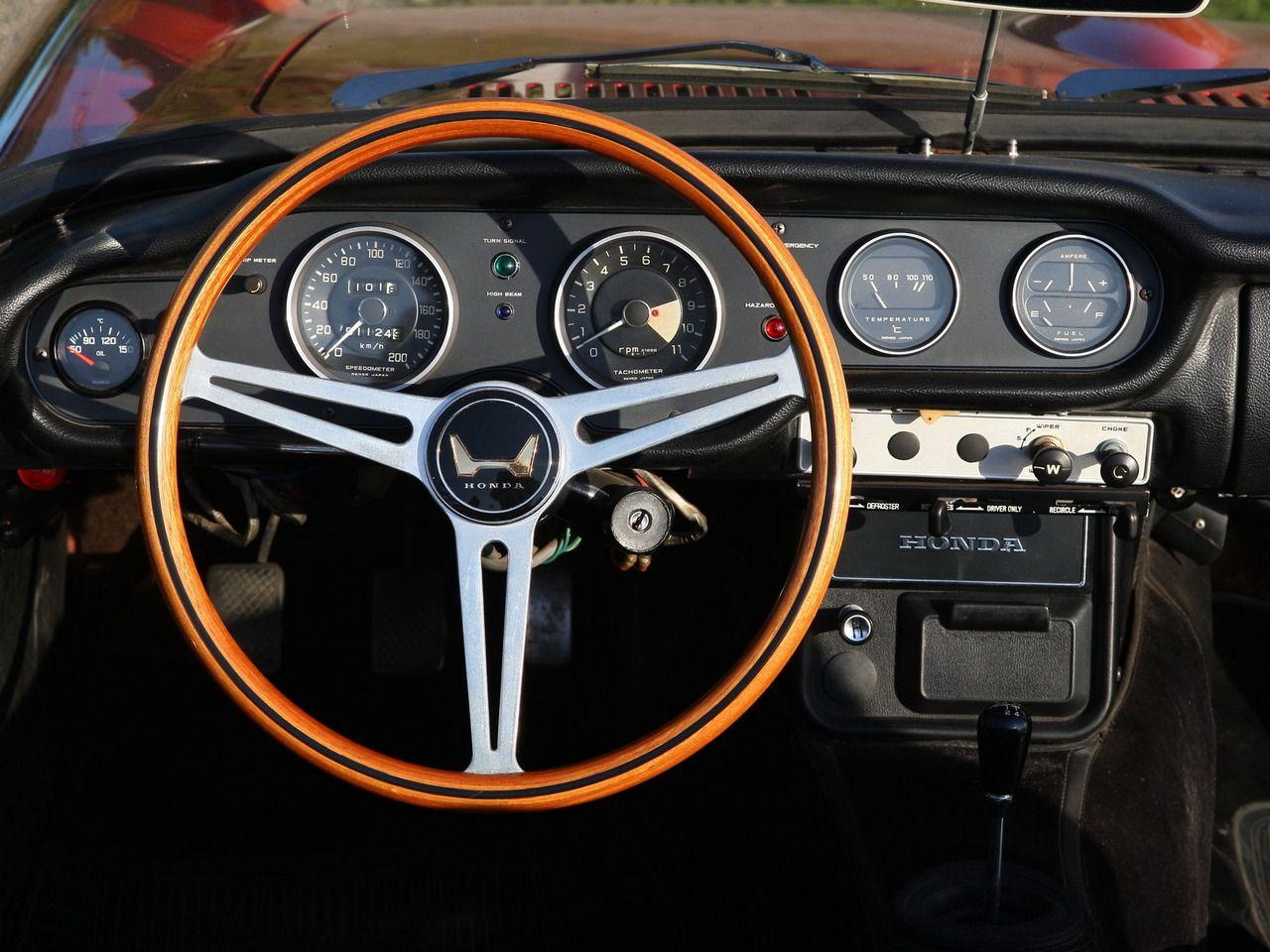 1966 Honda S800 Wonderful Steering Wheel Car Interiors 1970 Accord Interior