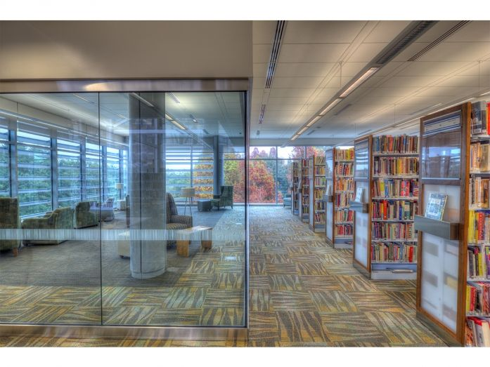 New Main Library At Goodwood East Baton Rouge Parish Tipton Associates Architecture