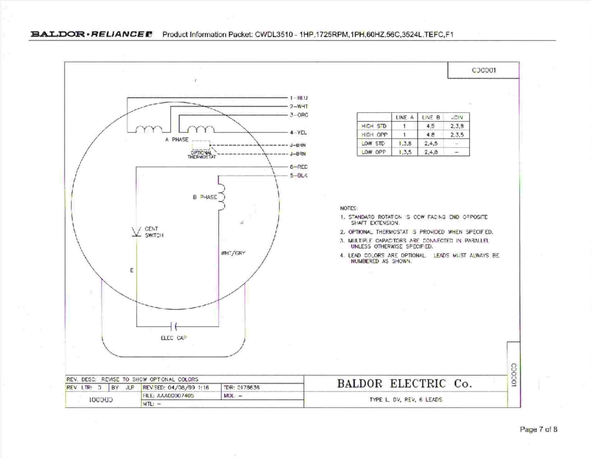 1 2 Hp Electric Motor Wiring Diagram