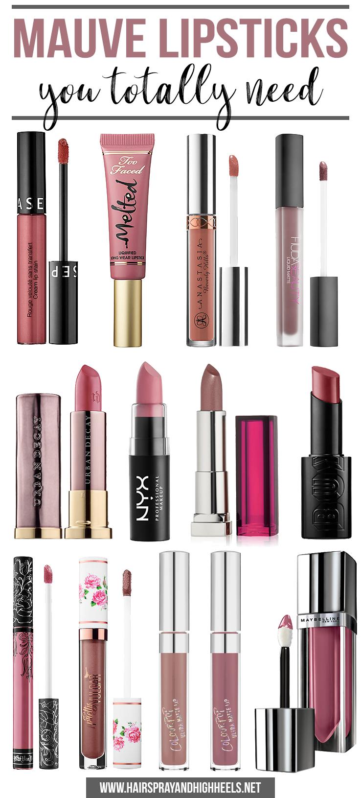 Best Mauve Lipsticks  Mauve Lipstick, Lipstick Shades -8713