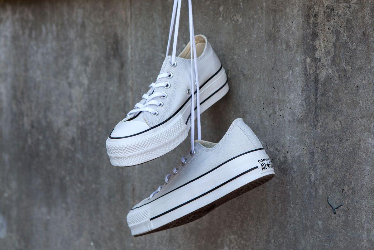 Converse Chuck Taylor All Star Platform | Beige | Dames ...