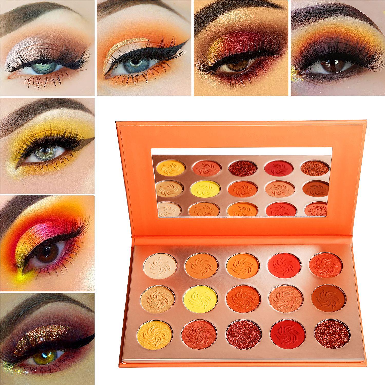 Vitamin C Palette in 2020 Orange eyeshadow palette