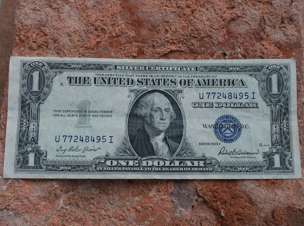 Dollar Bill 1935 Silver Certificate Worth Image collections ...