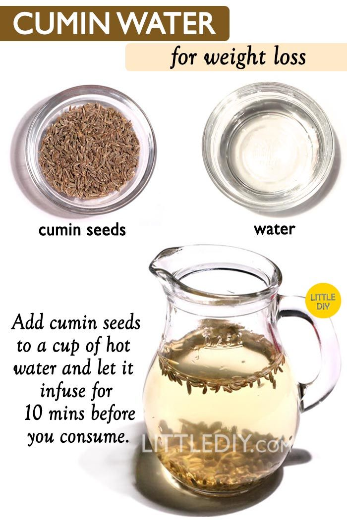 CUMIN WATER RECIPE FOR WEIGHT LOSS - LITTLE DIY