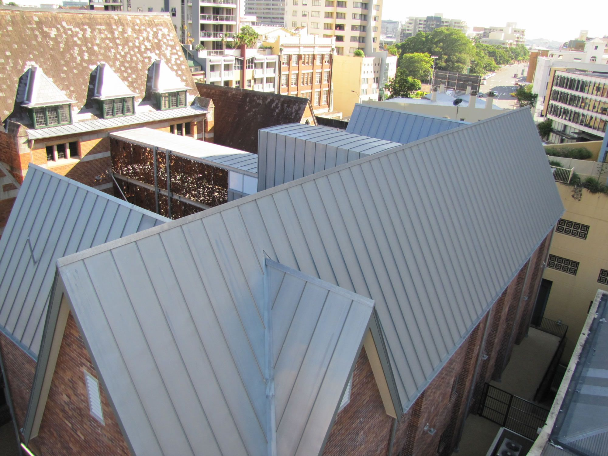 Snap Lock Zc Technical Zinc Roof Roofing Wall Cladding
