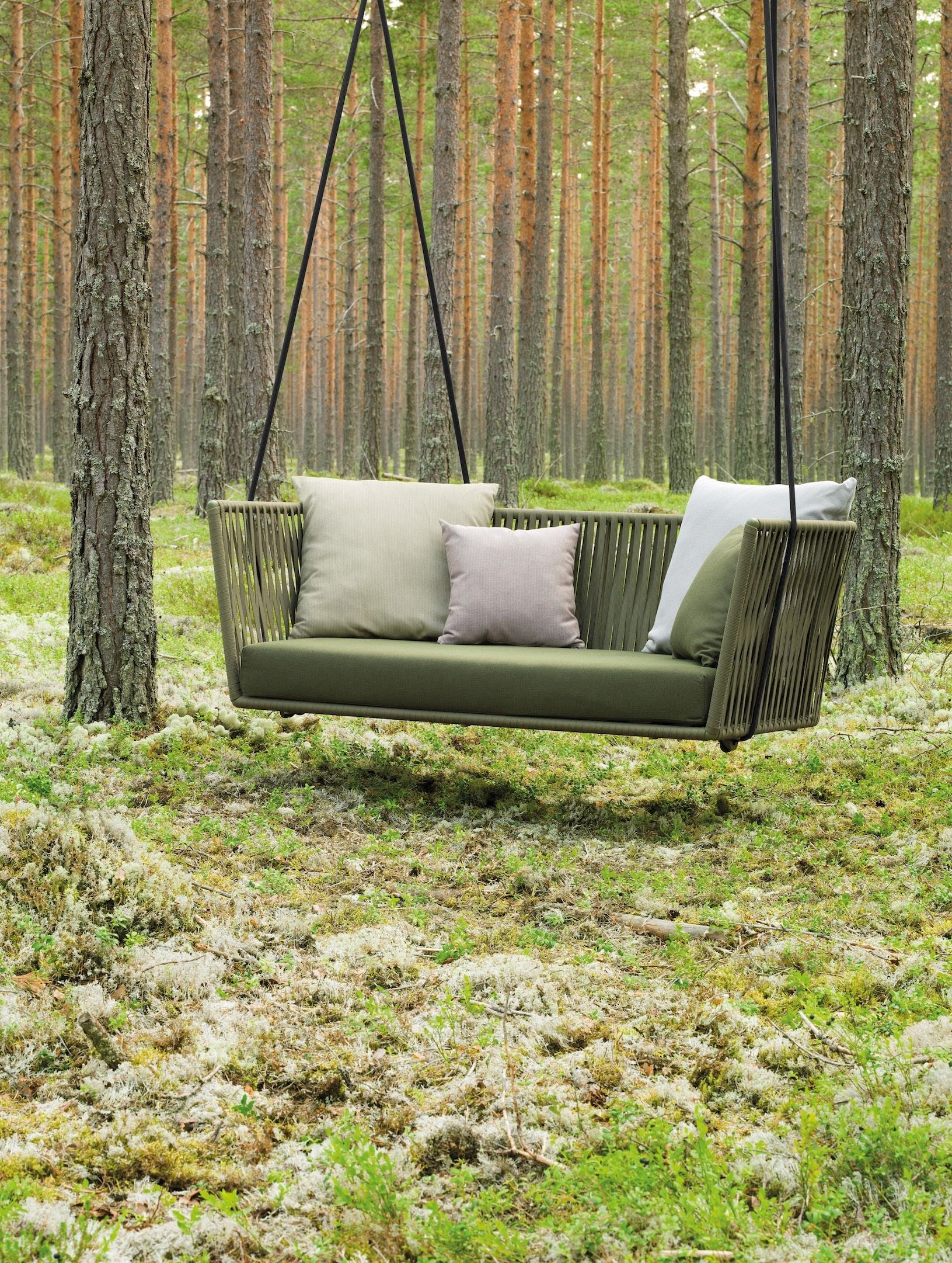 Kettal Bitta Swing sofa Suspended Chairs in 2019