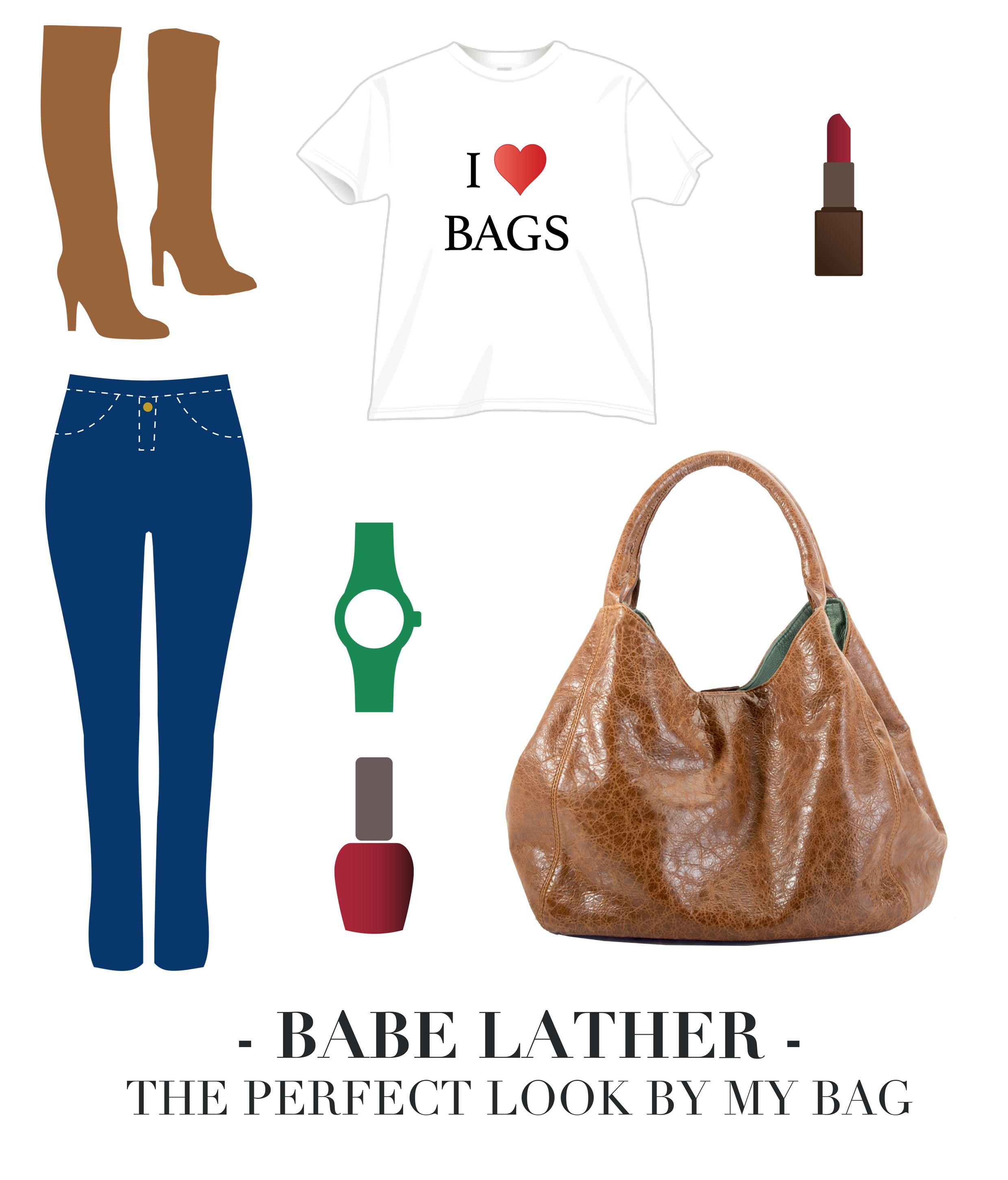 Babe Leather è la borsa in pelle che ti accompagna durante le commissioni della giornata. Realizzata da maestri artigiani, ha un design dinamico e moderno, valorizzato da raffinate finiture. I pratici accessori ti garantiscono la comodità di avere le cose importanti sempre a portata di mano. E c'è anche uno stupendo portachiavi in omaggio. http://www.borsemami.it/shop/it/home/39-babe-leather.html