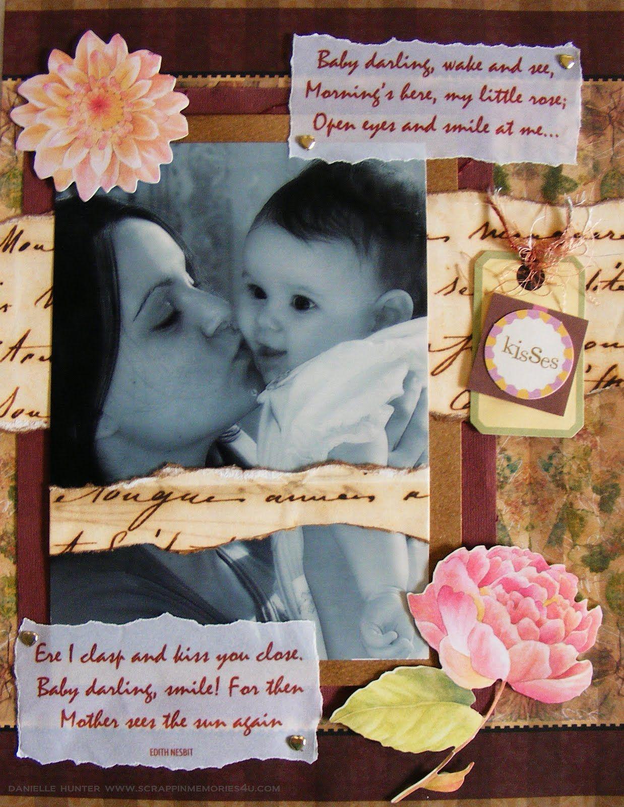 Baby scrapbook ideas on pinterest - Tweet Baby Scrapbook Layouts Journaling To Remember Your