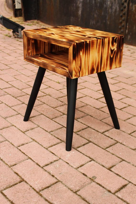 Handmade Table Retro 50s Danish Style By