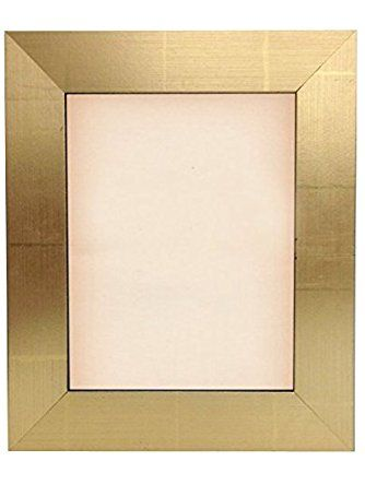 Modern Metallic Gold Picture Frame Size 4x6 5x7 8x8 8x10 11x14 12x16 16x20 20x24 24x36 Custom Sizes Smal Gold Picture Frames Picture Frame Sizes Picture Frames