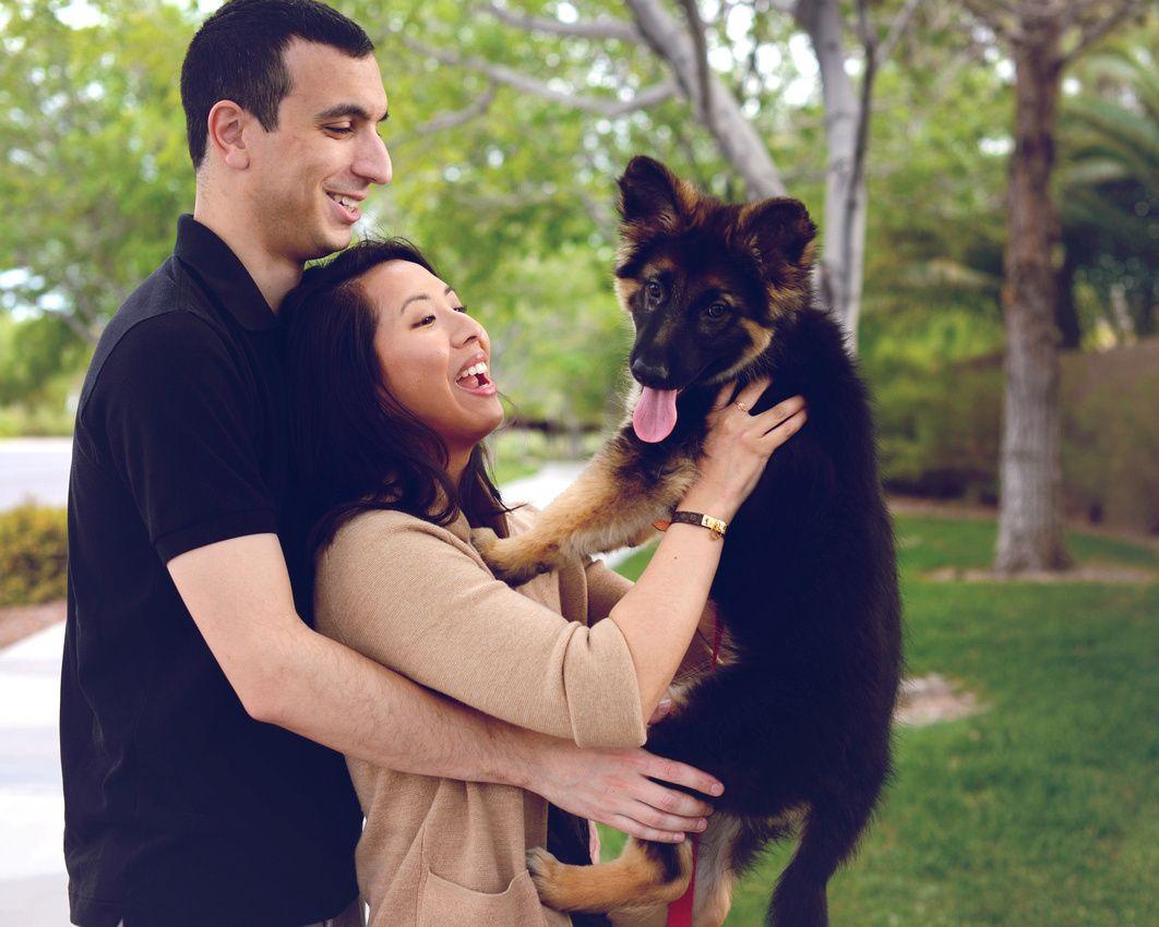 New Puppy Couples Pet Photography Posing Pet Photographer Pets Pet Portraits