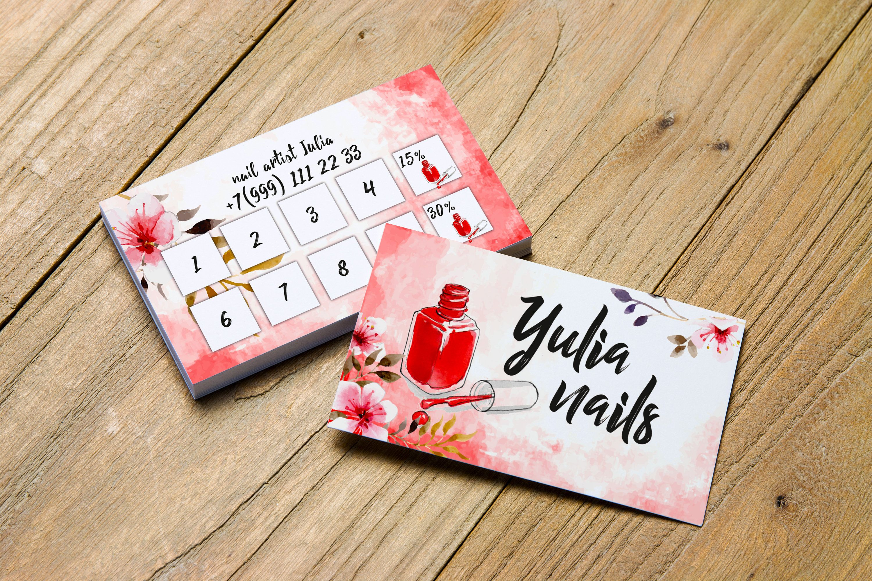 Nail Artist Business Card Nail Salon Business Card Business Card Nails Business Card Template Nail Bus Salon Business Cards Nail Logo Artist Business Cards