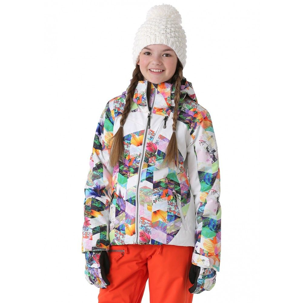 6dde8d77f921 Obermeyer Girls Tabor Print Jacket