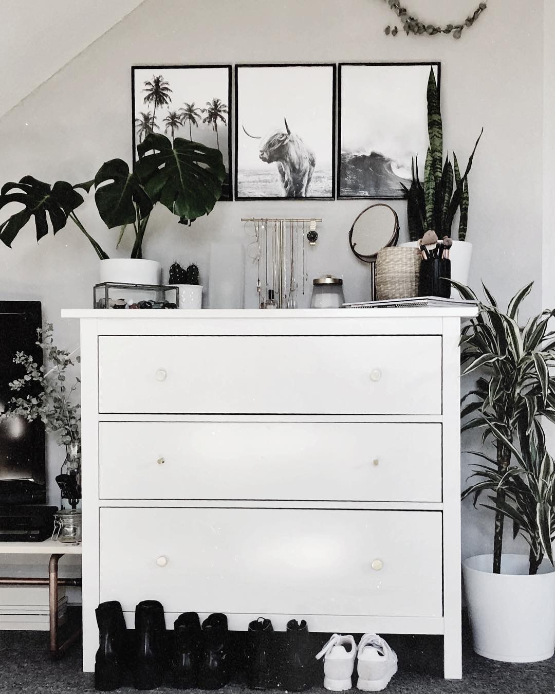 Bedroom Decor Discover white drawer boho decor in 2020