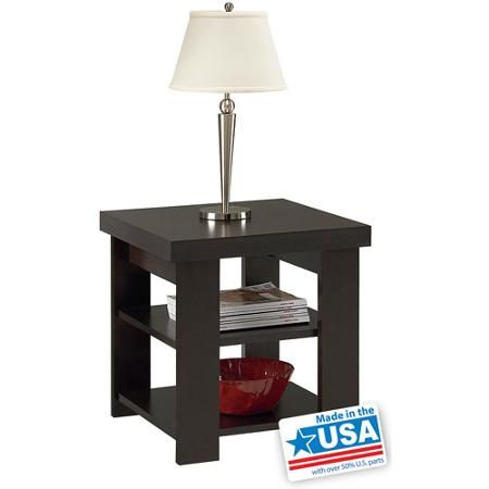 Larkin End Table By Ameriwood Multiple Finishes For The Crib Pinterest